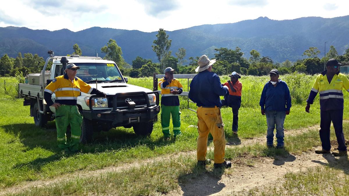 Firecraft Coordinating Burns with QPWS and Jumbun Municipal Services Team